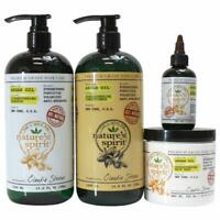 Natures Spirit Argan Oil Shampoo,Conditioner, Hair Mask and Hair Oil 4-PC SET