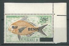 Benin 2009 MNH - Fish FRAGUS ovptd 50F - cv 93$