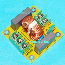 110V 220V AC Power Noise Suppression EMI Filter Board 4A For DAC Amplifier Audio