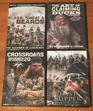 Duck Commander Hunting Latest Seasons 18 19 20 21 Duckmen 4 DVD Lot Set NEW