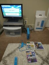 🔥Wii Limited Edition Blue Console🔥😃