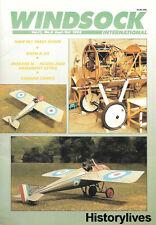 Windsock International V.11 N.5 Engine Cockpit LTA Morane Saulnier Bullets Mono