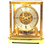 JUST FULLY SERVICED 1940s JAEGER LECOULTRE*ATMOS II* MANTLE CLOCK#16,XXX WORKING