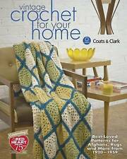 Vintage Crochet for Your Home, Acceptable, Clark, Coats, Book
