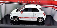 MODELLINO AUTO FIAT 500 ABARTH SCALA 1:24 CAR MODEL MINIATURE DIECAST MODELO NEU