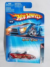 Hot Wheels 2005 Rebel Rides Series #076 Outsider Red with Malaysia Base