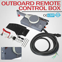 Outboard Remote Control Box For Yamaha 703-48205 Side Mount Electric Switch