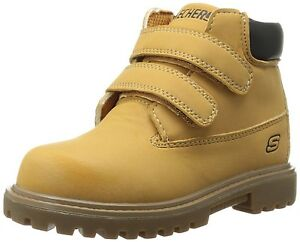Skechers Infant/Toddler Boys Lil Mecca Boot Baby US 1 M - 6 Weeks To 3 Mos Old