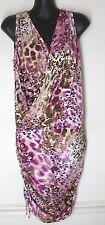Small Victoria's Secret Moda International pink animal leopard print MINI DRESS