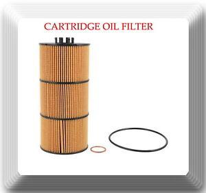 V57909 Engine Oil Filter Fits:Freightliner Western Star Detroit Diesel Mercedes