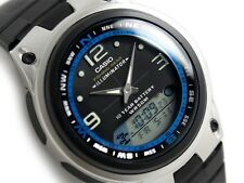 Casio AW-82-1A Fishing Gear Moon Data Analog Digital Black Dial Watch AW-82