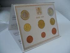 Kursmünzensatz Euro Vatikan 2009 - Papst Benedikt XVI - Folder - Stempelglanz