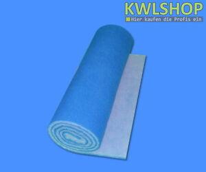 Filterrolle Blau Weiß,Filterklasse G4,Abmessung 0,6 x 4m,Filtermatte,Filtervlies