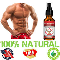 Deer Antler Velvet Spray Extract Max Strength Muscle Recovery Stamina Supplement