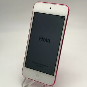 Apple iPod Touch 6th Generation 64GB Pink WiFi Good Condition - LCD Issues