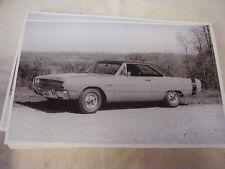 1969 DODGE DART SWINGER HARDTOP   11 X 17  PHOTO   PICTURE