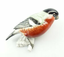 #e4196 Aelteste Volkstedter Porzellan - Manufaktur Figur Vogel Wanddeko