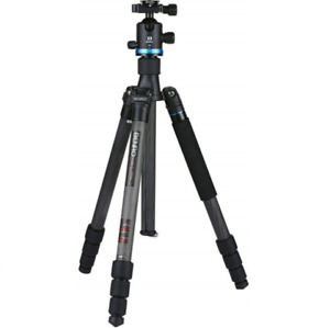 Benro iFOTO FIF28CIB2 4 Section Carbon Fibre Ballhead Tripod Holds 14kg + Case