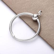 Moments O Pendant Medium 925 Silver Fiit pandora Necklace Pendant Charm GifT NEW