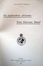 AFRICA ESPLORAZIONI GIAN GIACOMO DAVID