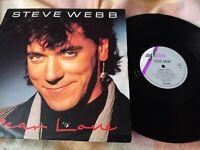 STEVE WEBB Dear Love 12 INCH VINYL UK Sedition 1985 VG/VG