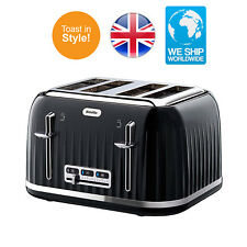 Breville VTT476 4 Slice Toaster Stainless Steel and Family Large New Kitchen