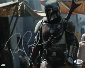 Pedro Pascal Autographed The Mandalorian 8x10 Photo Star Wars BAS 28179 PF