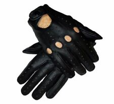 Men's Sheep Leather Driving Gloves Smart Fit