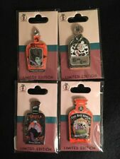Walt Disney Studios Halloween Villains Potion Bottle Pin Set LE 250