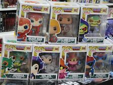 MASTERS OF THE UNIVERSE -  FUNKO POP! - FULL SET - 7 FIGURES !!!! NEW !! He-Man