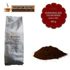 Caffè Arabica macinato fresco per espresso Honduras SHG Tucan Verde 500 gr