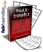 ►KANJI SYMBOLS TATTOOS Chinesische Schriftzeichen TATTOO ►NAMEN von A-Z E-Lizenz