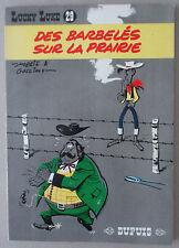 MORRIS   ** LUCKY LUKE 29. DES BARBELÉS SUR LA PRAIRIE **  EO 1967 QUASI NEUF!