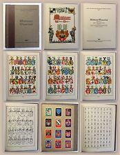 Mühlhäuser Wappenbuch Band 1 1934 Heraldik Sippenwappen Hausmarken Thüringen xz