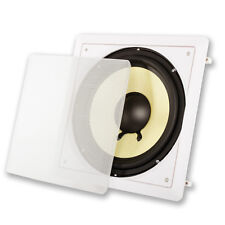 """New 10"""" Svc In Wall Subwoofer Speaker.bass flush mount sub.Home theater.Surround"""