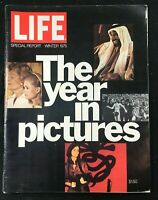 LIFE MAGAZINE - Winter 1975 - THE YEAR IN PICTURES / Patty Hearst / Muhammad Ali