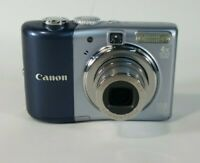"Canon PowerShot A1000 IS Digital Camera 10.0MP 2.5"" 4x OZ Gray Fair Condition"