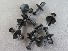 10X Clip di fissaggio Rivetti a vite parete divisoria montaggio della Ruota