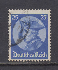 Germany Sc 400 used 1933 25pf Frederick the Great, top value to set, F-VF