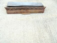"small cast iron stove door grate the waterloo 12-1/4 X 2-1/2"" galvanized box"