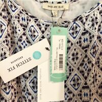 Skies Are Blue Stitch Fix Langlock Cold Shoulder Top - XL - NWT