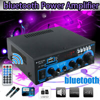 AK-550 800W 2Channel bluetooth Home Stereo Power Amplifier Audio USB AMP FM SD