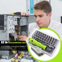 32 in 1 Magnetic Driver Bit Kit Mini Precision Screwdriver Set Phone Repair Tool