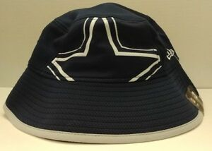 Dallas Cowboys New Era Fearless Fan Bucket Hat Blue - Free Ship - OSFM