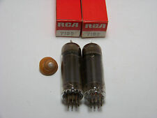 MATCHED SET PAIR 2 RCA 7189 Vtg Guitar Amp Vacuum Tube Replacement Part NOS NIB