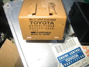 TOYOTA MR2 MK1 1989 HEADLIGHT RETRACTOR reminder buzzer