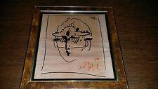 Peter Max - ZERO 1977 Signed Poster 77 Signed W/ COA Original Framed SUPER RARE