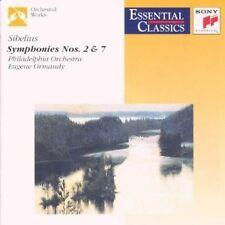 Sibelius Symphonies No. 2 & 7 Eugene Ormandy, Pdo
