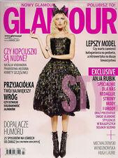 Glamour 03/2011 front Anja Rubik , in: Natalia Vodianova