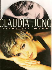 CLAUDIA JUNG - liebe ist mehr CD SINGLE 2TR CARDSLEEVE 1996 HOLLAND